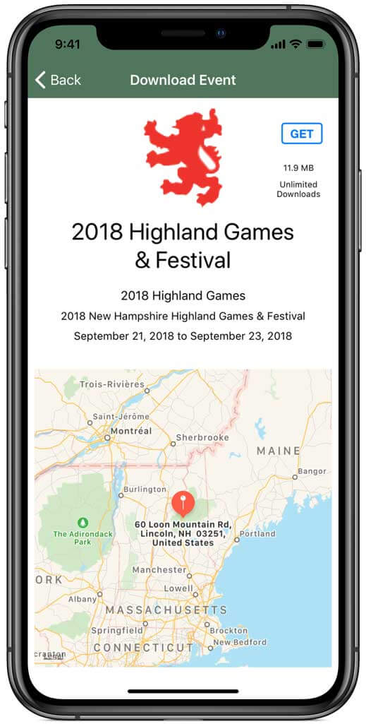 Highland Games Events